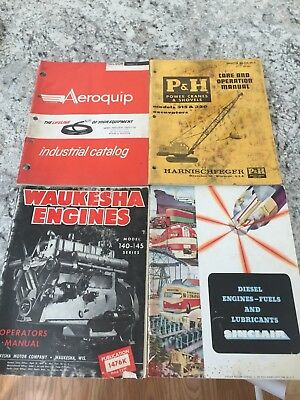 Rare collectable vintage industrial Magazines