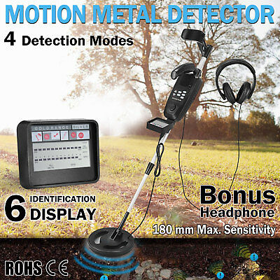 Metal Detector Deep Sensitive Searching LCD Readout Gold Digger Treasure Hunter