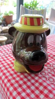 Kitch Vintage Humphrey B Bear Money Box Stoneware