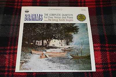 Brahms~The Complete Quartets For Four Voices and Piano~The Gregg Smith Singers