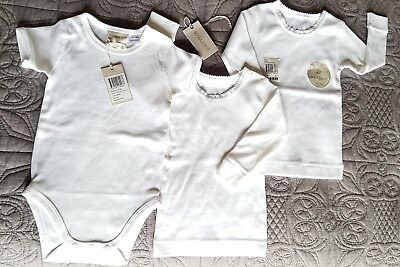 Marquise Size 00 (3-6 Months) BNWT new Bulk growsuit and 2 × longsleeve spencers