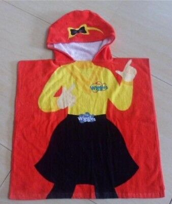 The Wiggles Emma Hooded Towel NWOT Small defect 60 x 120cm