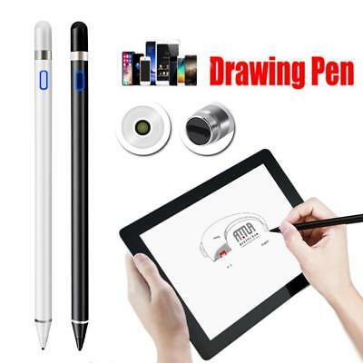 Rechargeable Capacitive Active Screen Stylus Pen Drawing Pen For iPad Tablet #g