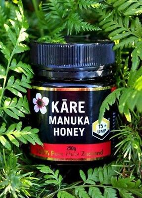 Kare New Zealand Manuka Honey UMF 15+ 250g Similar Comvita