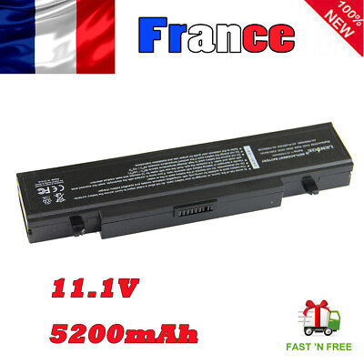 5200mAh 11.1V R730 RV510 NP-RV519 NP300V5A R505 Q210 BATTERIE POUR Samsung 6cell