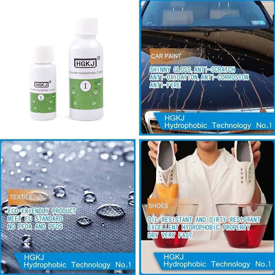50/20ml Nano Coating Hydrophobic For Glass Cloth Shoes Waterproof Agent spray