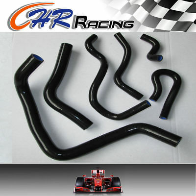 Silicone Radiator Hose for Honda Civic B Series Type R DC2 EK4 EK9 B16A/B BLACK