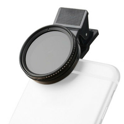 Zomei 37mm Adjustable Neutral Density Clip-on Phone Camera ND Filter Lens