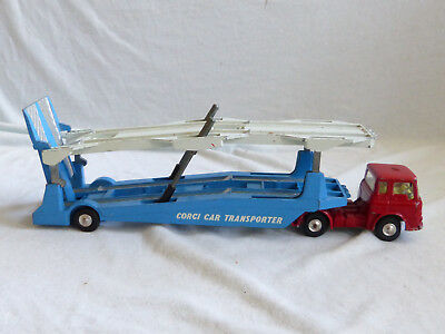 Corgi Toys 1105 Carrimore Car Transporter Modell Model Car 1/43 Made in England