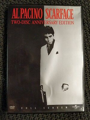 Scarface used DVD Two Disc Anniversary Edition Al Pacino