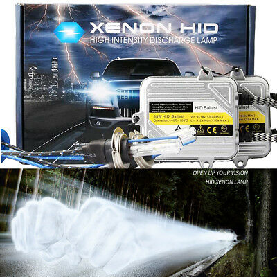 55W H7 6000k White Xenon HID Headlight Kit Fit For Toyota MR2 Roadster 1999 On