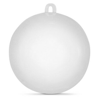 """4"""" Clear Plastic Fillable Ball Christmas Ornament"""