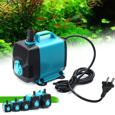 160-800GPH Submersible Water Pump Aquarium Pond Pond Tank Fountain 600-3000L/H