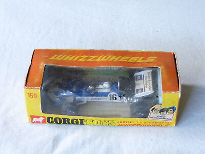 Corgi Toys 150 Surtees T.S.9 F1 Model Modell 1/36 Modelcar in Box