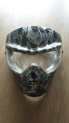 Softair Paintball Maske Gotcha Schwarz Grau