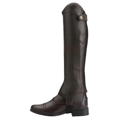 New Ariat Concord Half Chaps - Smooth Chocolate - Was £89.99