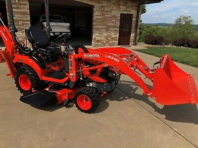 2017 Kubota Bx 23S 4X4 Tractor With Loader And Backhoe