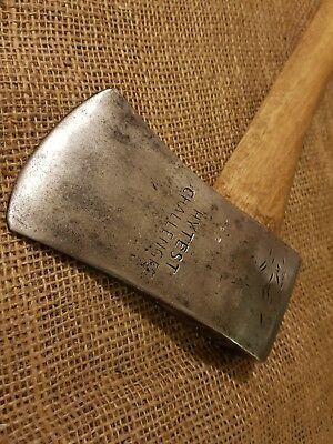 VINTAGE HYTEST CHALLENGER TOMAHAWK AXE CAMPING HATCHET 2LB 2OZ (with handle)