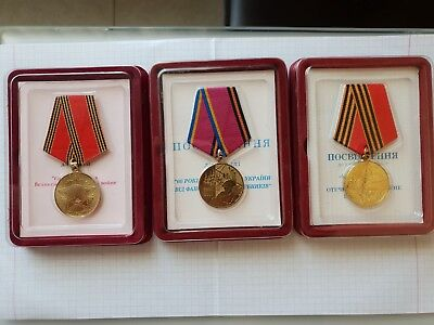 medals and documents 50,60 years of Victory in the Great Patriotic War