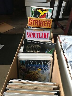 260+ Comics! Long Box! Mostly 80-90s Indie; Some Marvel/ DC; No Duplicates!