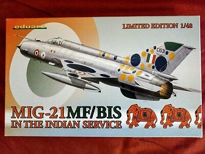 MiG-21MF/BIS in the Indian Service 1:48 Eduard 1171