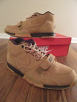 Nike Air Trainer 1 Mid PRM QS Size 11.5 Flax Baroque Brown 607081 201 NIB  Wheat aaa07bed63