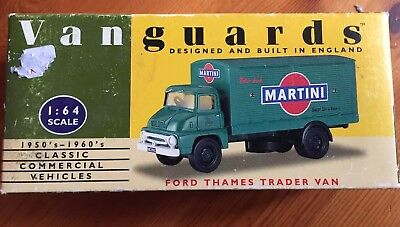 56abc84685 Vanguards by Lledo 1 64 VA6000 Ford Thames Trader Van Martini - Near Mint in