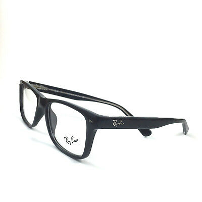130d7d62584 NEW RAY-BAN RB 5308 Eyeglasses Frame Italy Black 51Mm Optical ...
