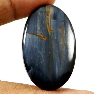 34.60 cts 100% Natural Genuine Designer Pietersite Gemstone Oval Loose Cabochon