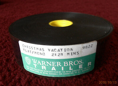 35MM Trailer National Lampoon's Christmas Vacation Chevy Chase Clark Griswold
