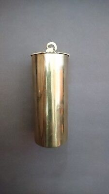Single Brass Cased Weight For Vienna Regulator