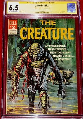 CGC SS The Creature # 1 (Dell, 1962) signed by RICOU BROWNING!!!