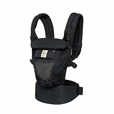 Ergobaby Adapt Cool Air Mesh Breathable Ergonomic Multi-Position Baby Carrier,