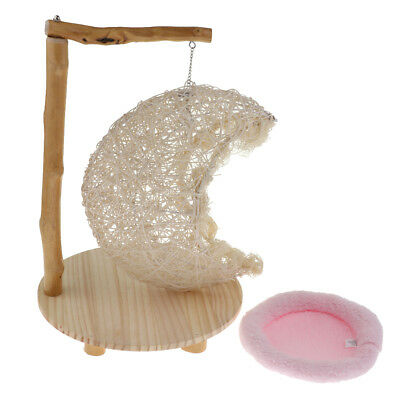 Cat Rat Hamster Squirrel Hanging Hammock Bed Pet Toy Mini House Cage