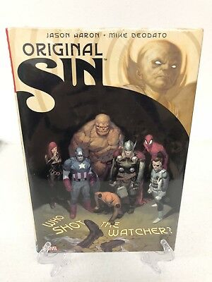 Original Sin Collects #0-8 Sins #1-5 More Marvel Comics Hard Cover HC Sealed $75