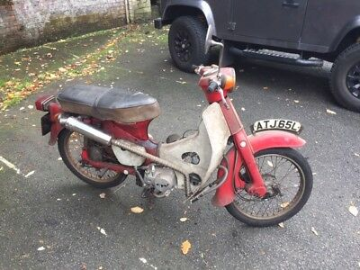 1973 Honda C50 with 140cc engine Tax and MOT exempt Cub c90 c70 custom