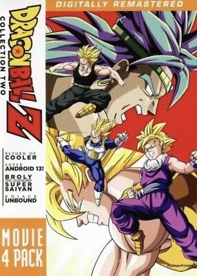 Dragon Ball Z: Movie Pack Collection 2 And 3 New DVD Boxed Set
