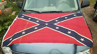Vintage 3ft x 5ft UCV flag  made in New Orleans.