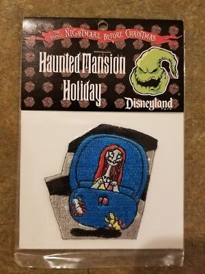 Disneyland Haunted Mansion Nightmare Before Christmas 2003 puzzle patch