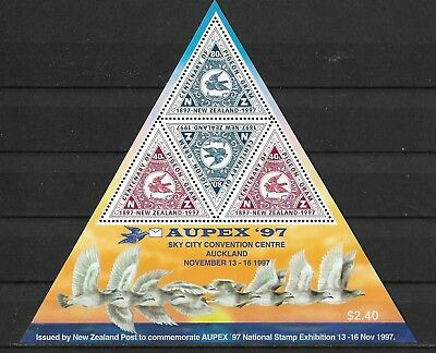"New Zealand ""National Stamp Exhibition ""AUPEX '97"" Postfrisch"