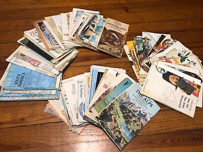 HUGE Lot 99 Vintage National Geographic Maps & Inserts 1960s - 1970s - 1980s