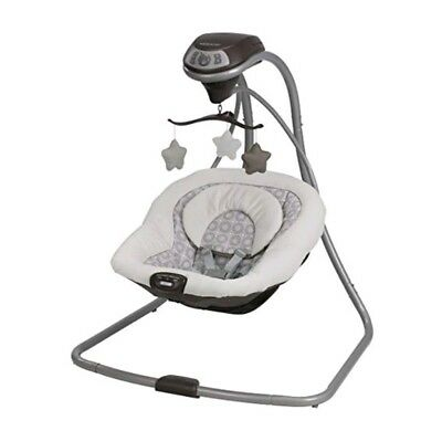 BRAND NEW GRACO Simple Sway Baby Swing - Abbington Soothing