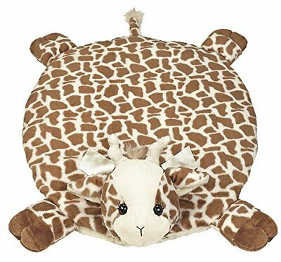 Baby Patches Belly Blanket Giraffe Plush Stuffed Animal Tummy Time Play Mat