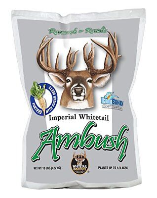 Whitetail Institute Imperial Ambush New Food Plot Seed Fall Planting 10 Pound