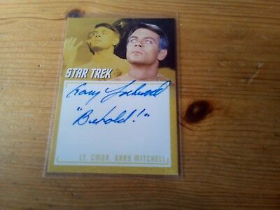 Star Trek Tos The Captain's Collection 2018 Autograph Of Gary Lockwood Card A 16