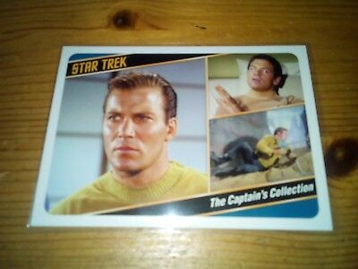Star Trek Tos The Captain's Collection 2018 Promo Card P 2