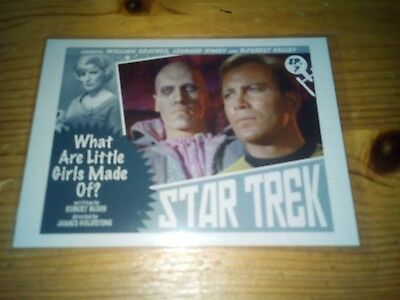 Star Trek Tos The Captain's Collection 2018 Loddy Chase Card 7