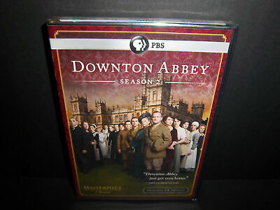 Downton Abbey: Season 2 3-Disc 2011 DVD Set - Brand New & Sealed!!