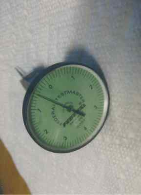 """Federal Testmaster Indicator  1-1/2"""" Dial .0001  . Moore Jig Bore   Etc"""