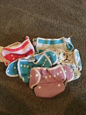 Lot of 5 Thristies duo wrap size 1 used diaper covers